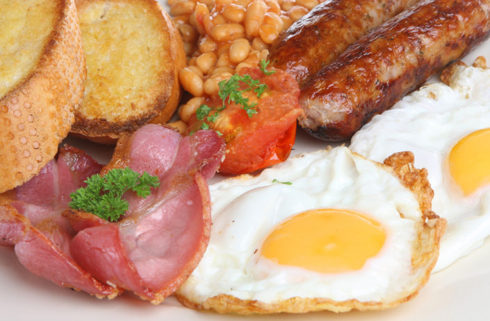 b and b lairg breakfast menu